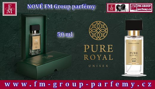 royal pure unisex parfémy fm group